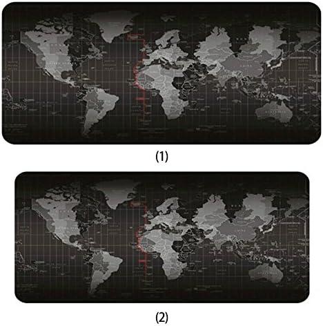 Super Large Size World Map Mouse Pad//Gaming Mat//Laptop Non-Slip
