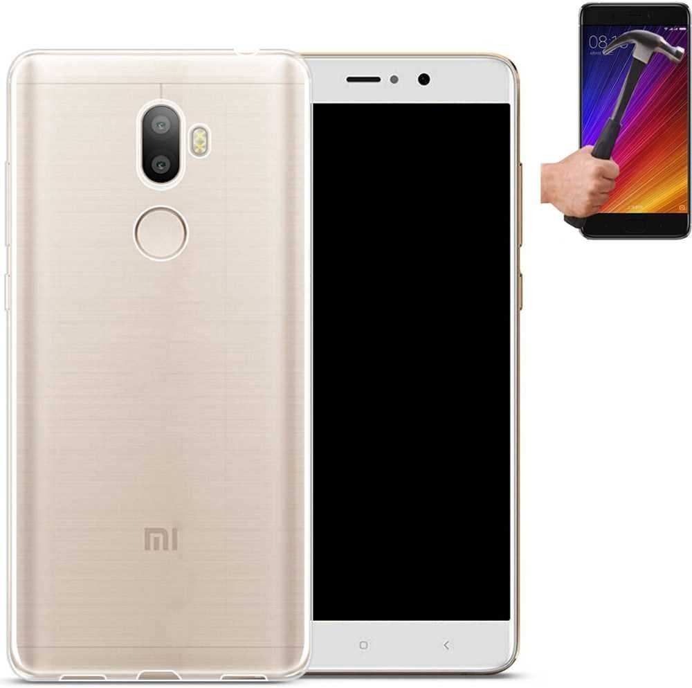 Todobarato24h Funda TPU Lisa Compatible con Xiaomi Mi 5S Plus 100 ...