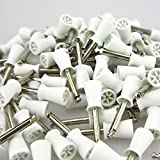 100 pcs New Latch type Polisher Dental Polishing Cups 2.35mm