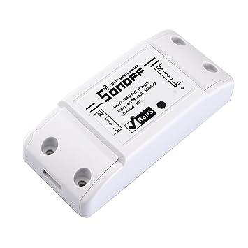 Sonoff Basic 10a Diy Smart Wifi Fernbedienung General Amazonde