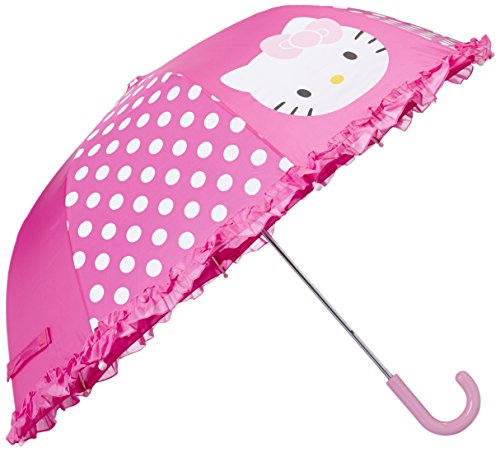 [Western Chief Little Girl's Western Chief Kids Character Girls Umbrella Childrens Costume, Hello Kitty Pink,] (Hello Kitty Child Costumes)