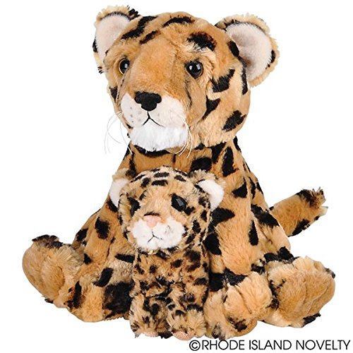 Birth LIfe Cheetah Baby Plush