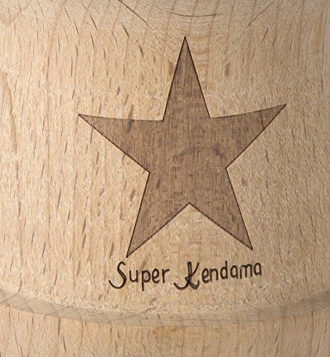 Emperor Kendama, Rasta Color, Glossy Super Kendama, Super Sticky, Japanese Wooden Toy, Free String, USA Seller by Super Kendama (Image #4)