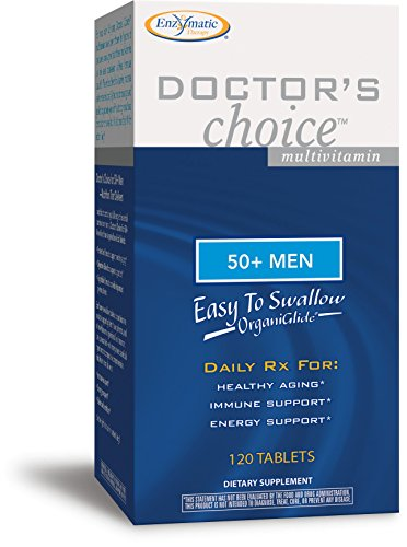 Enzymatic Therapy Doctor's Choice Mulitvitamins For 50-plus Men, 120 Tablets Review