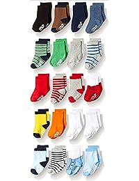 Infant Socks & Baby Boy Socks, 20 Pairs, 0-12/12-24 Months