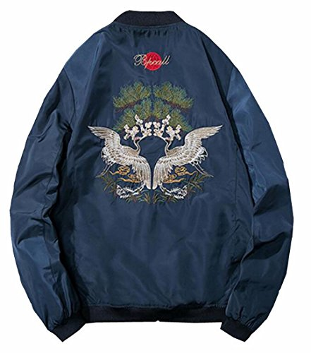 Embroidered Letterman Jacket - 2