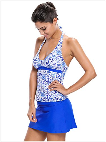 Kemrrey - Tankini - para mujer Azul