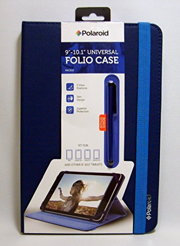 Polaroid Universal Folio Case for iPad and 9