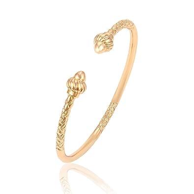 Xuping , Bracelet ouvert plaqu\u0026eacute; or 18 carats pour femmes , Design  classique