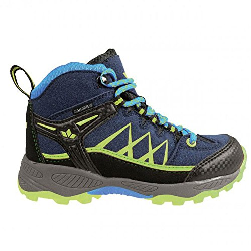 Lico Griffin, Zapatos de High Rise Senderismo para Niños Marine/Blau/Lemon