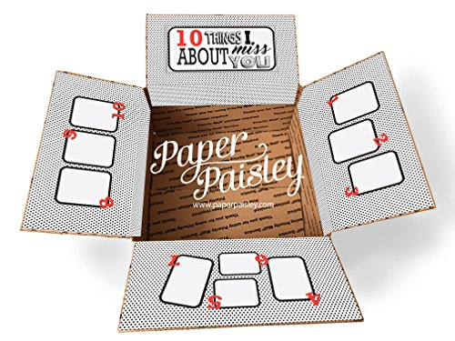 Ten Things I Miss About You Care Package Sticker Kit by Paper Paisley