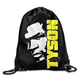 SUNG916 Mike Tyson Gym Drawstring Bags Backpack