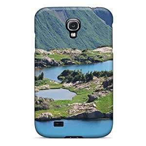Galaxy Case - Tpu Case Protective For Galaxy S4- Yule Lakes In Crested Butt