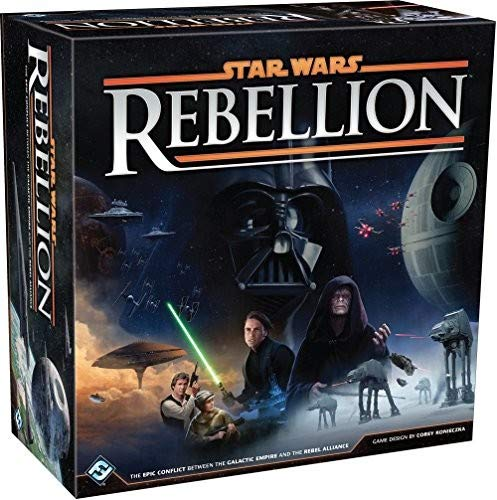 - Star Wars: Rebellion Board Game