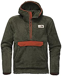 The North Face Khampfire Pullover Hoodie - Men's New Taupe Green/Brandy Brown Medium