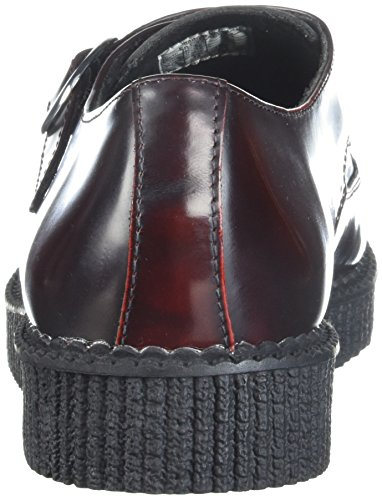 Monk Creeper T Mixte Baskets Burg k off burgundy Pointed Rub u Adulte Basses Rouge xEwqpCSI
