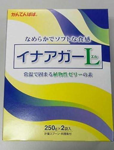 伊那食品 常温 15箱 イナアガーL 植物性ゼリーの素 500g 介護食 低カロリー