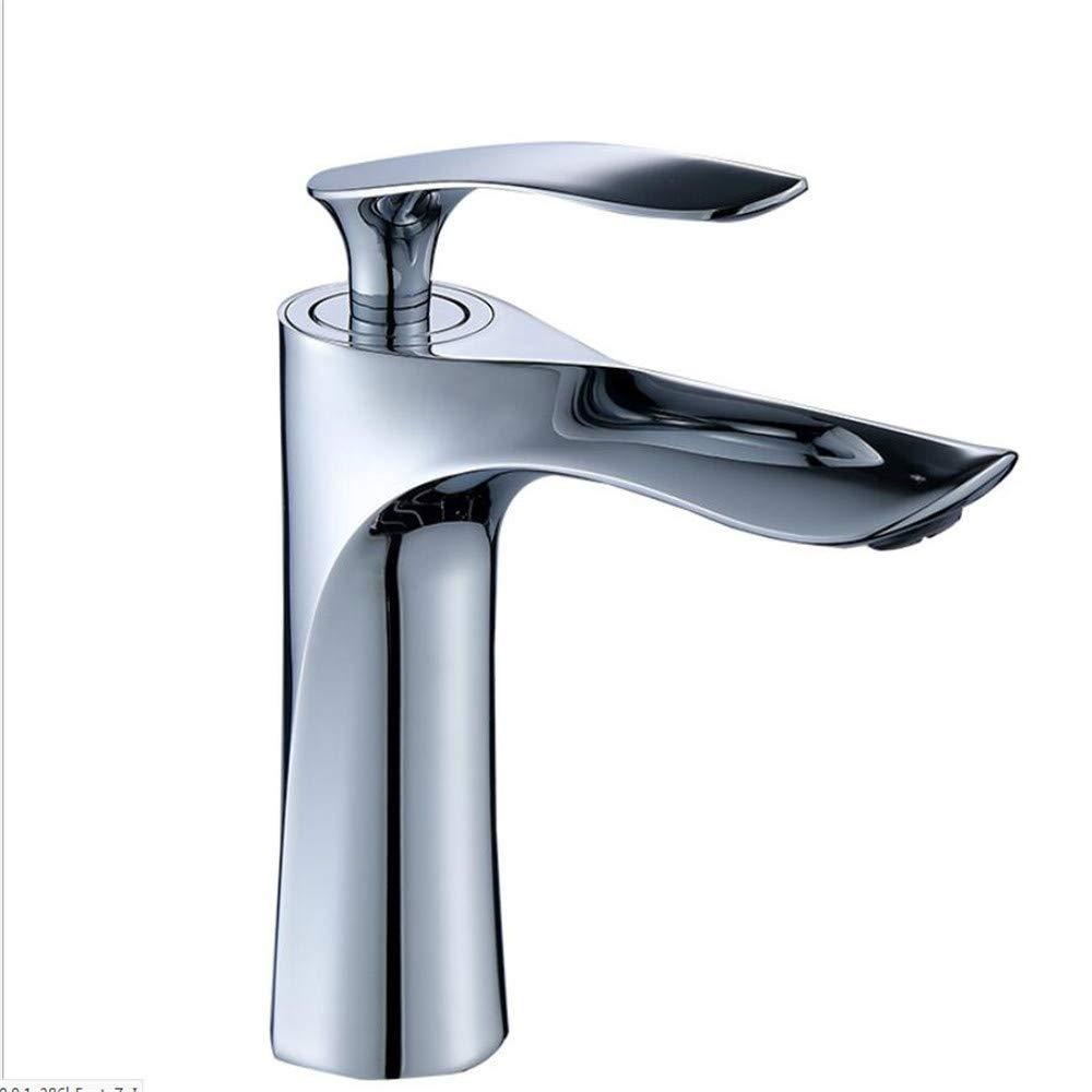 Waschtischarmaturenwaschbecken Wasserhahn Becken Becken Einlochmontage Kalter Und Heißer Wasserhahn Kalter Und Warmer Handwaschtisch Unterer Beckenhahn.