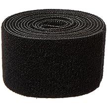 "1805-OW-PB/B-5 Nylon Onewrap Strap, Hook and Loop, 1-1/2"" Wide, 5' Length, Black"