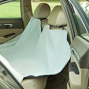 Bergan Heavy-Duty Back Seat Hammock Protector, Gray Microfiber