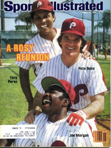 Sports Illustrated March 14 1983 Pete Rose & Tony Perez & Joe Morgan/Cincinnati Reds Reunion on Cover (with Philadelphia Phillies), Hershel Walker/Georgia Bulldogs/New Jersey Generals, Michael Spinks/Boxing, Dodgertown at Vera Beach Florida