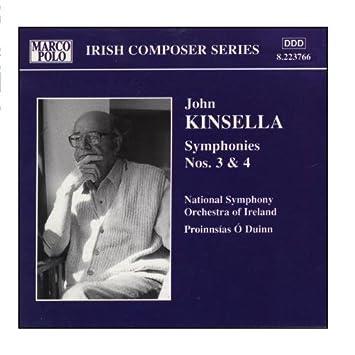 Kinsella/Symphonies No 3 & 4 by Ireland Nat So/O Duinn : Ireland ...