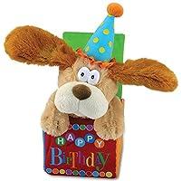 "12 ""Flappy Birthday Animated Plush Puppy Dog Cantando"" Happy Birthday """