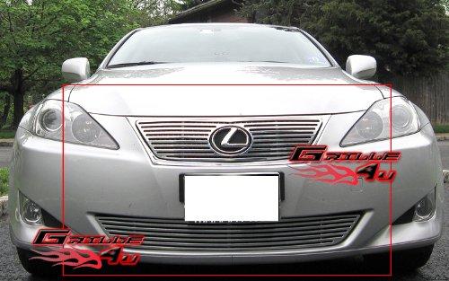 APS Fits 06-08 Lexus IS 250 IS 350 Perimeter Billet Grille Combo #T97826A