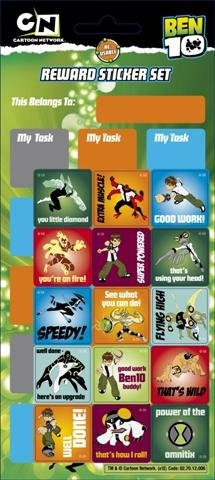(Ben 10 - Reward Sticker Chart - Sticker)