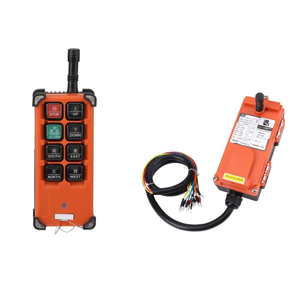 Grue industrielle sans fil avec t/él/écommande 24 VDC pour palan /à couronne 1 vitesse radio T/él/écommande et r/écepteur