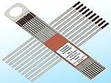 "51IMXAFy53L. SL160  - 10 pcs of 1/16""7""(1.6175mm)WZ3 Brown0.3% Zirconiated Tungsten TIG Electrode (ETA:7-12 WORK DAYS)"