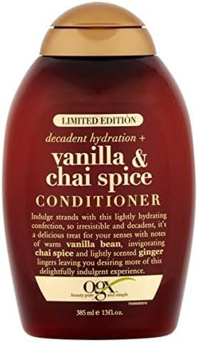 Shampoo & Conditioner: OGX Vanilla & Chai Spice