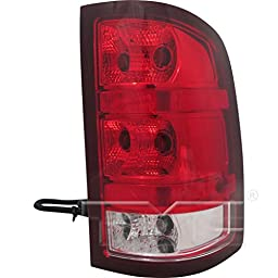 TYC 11-6223-00 GMC Sierra Passenger Side Replacement Tail Light Assembly