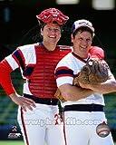 Carlton Fisk & Tom Seaver Chicago White Sox 8x10 Photo #1