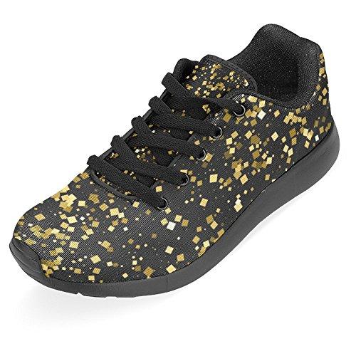 Interestprint Femmes Jogging Running Sneaker Léger Aller Facile À Pied Casual Confort Sportif Chaussures De Course Multi 15