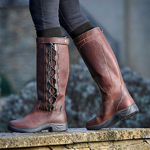 para mujer de Brown Red Dublin Drifted Botas equitación vqFA7wRZ