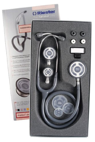 Riester Tristar Stethoscope Chest Pieces Slate product image