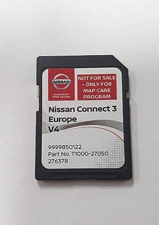 Tarjeta SD GPS Europe 2019 v4 - Nissan Connect 3 LCN2 - (Q1.2018): Amazon.es: Electrónica