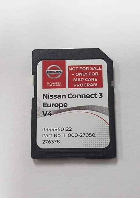 Tarjeta SD GPS Europe 2019 v4 - Nissan Connect 3 LCN2: Amazon.es: Electrónica