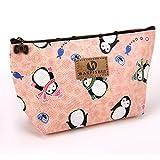 TraveT Printed Cosmetic Bag Washing Bag Fashion Cartoon Waterproof Bag Coin Purse