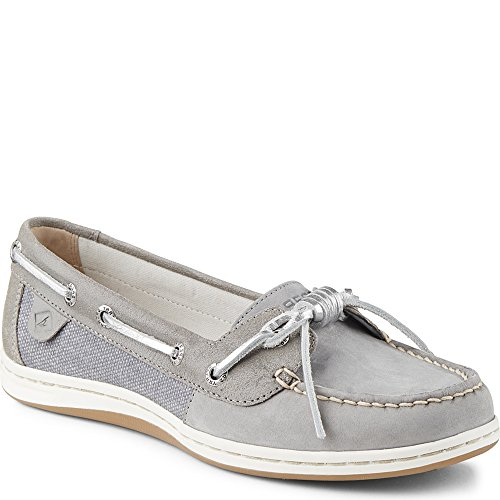 Sperry Top-sider Grigio Scarpa Da Barca Barrelfish