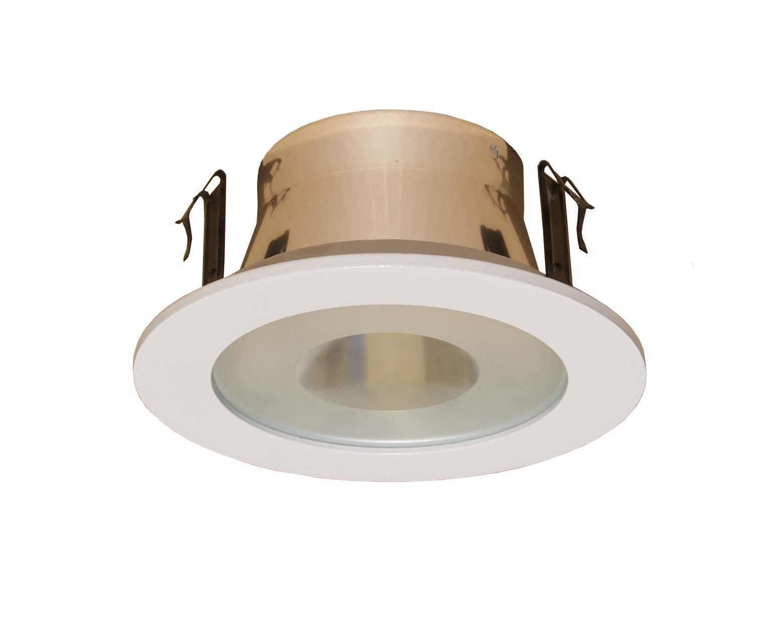 4 Inches Semi-frosted Lens Shower Trim for Line Voltage Recessed Light/lighting-white Fit Halo/juno