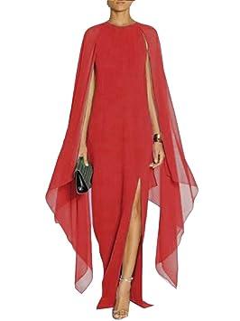 Gladiolus Mujer Vestido Fiesta Largo Maxi Gasa Elegante ...