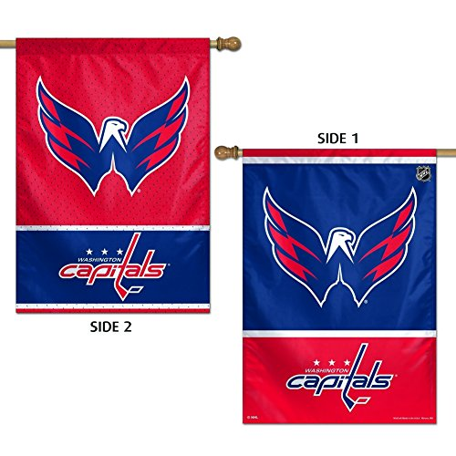 WinCraft NHL Washington Capitals 2 Sided Vertical Flag, 28 x 40