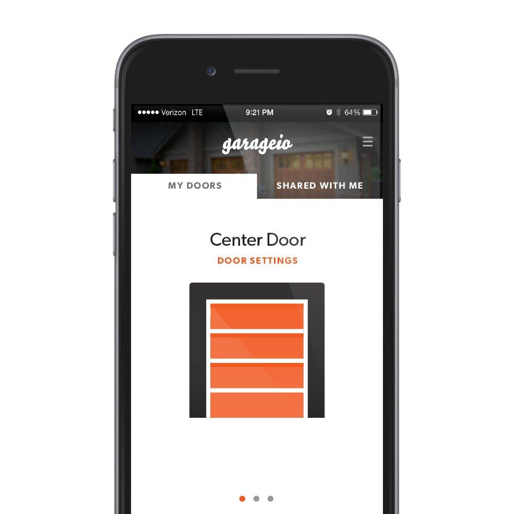 Garageio, 1 Door  Control Your Garage Door With Your Phone, Works With  Amazon Alexa   Amazon