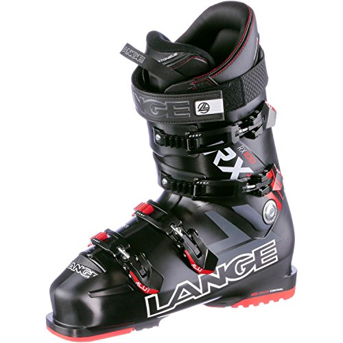 (Lange RX 100 Ski Boot - Black/Red 255)