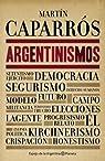 Argentinismos par Caparrós