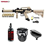 MAddog Tippmann Cronus Tactical Beginner HPA Paintball Gun Package – Black/Tan Review