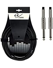 Alpha Audio 190005 Basic Line instrumentkabel (6 m, monoklink)