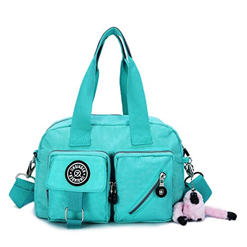 for Daypack Handbag Rose Green Red Purse Crossbody Travel Bags Water Resistant Shoulder Women Casual 6f5ww